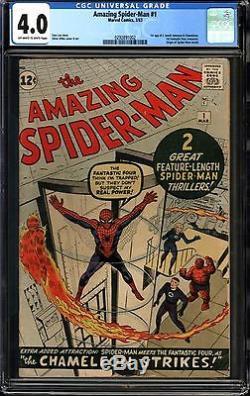 Amazing Spider-Man #1 CGC 4.0