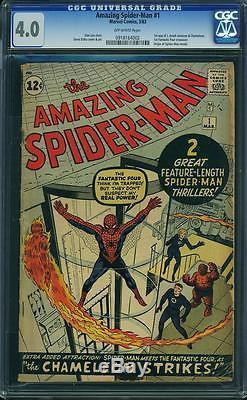 Amazing Spider-Man 1 CGC 4.0