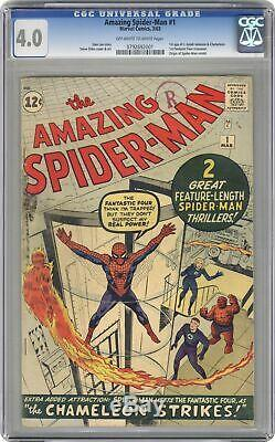 Amazing Spider-Man #1 CGC 4.0 1963 0792692001