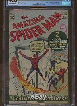 Amazing Spider-Man 1 CGC 4.0 Marvel 1963 1st J Jonah Jameson & More