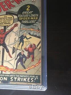 Amazing Spider-Man 1 CGC 4.5 Cr To OW Pgs. 3/1963 Unrestored 3 Day Auction Nice