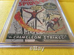 Amazing Spider-Man #1 CGC 4.5 Silver Age March 1963 Key Grail Comic Classic