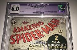 Amazing Spider-Man 1 CGC 6.0 (R) (3/63) Gorgeous Comic! WOW