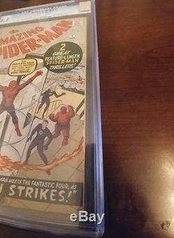 Amazing Spider-Man #1 CGC 6.5 OWithW