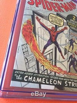 Amazing Spider-Man #1 CGC 7.0 Silver Age March 1963 Key Grail Comic Classic