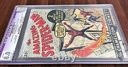 Amazing Spider-Man #1 CGC 8.0 Restored 1963 Key Grail Silver Age Comic Book