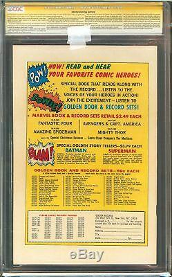 Amazing Spider-Man #1 CGC 9.8 NM/MT ORIGIN RETOLD SIGNED STAN LEE GRR Marvel