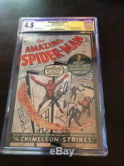Amazing Spider-Man #1 CGC Signed Stan Lee! New CGC Holder