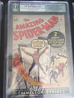 Amazing Spider-Man 1 (Graded 8.0, CGC PGX CBCS)