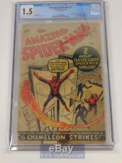 Amazing Spider-Man 1 Graded CGC 1.5