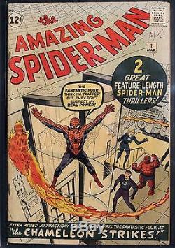 Amazing Spider-Man #1 (Marvel 1963) CGC FN- 5.5 Apparent Slight (A)