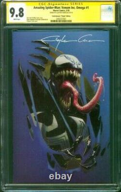 Amazing Spider Man 1 Venom Inc Omega CGC 9.8 SS Clayton Crain Virgin Variant