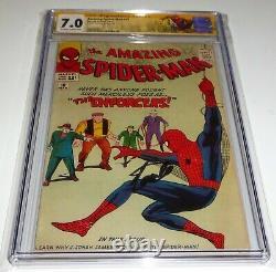 Amazing Spider-Man #10 CGC SS Signature Autograph STAN LEE 1st Big Man Enforces