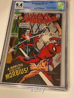 Amazing Spider-Man 101 1st App. Morbius CGC 9.4