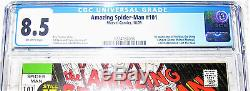 Amazing Spider-Man 101 1st Appearance Morbius CGC 8.5 1971