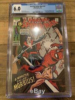 Amazing Spider-Man #101 CGC 6.0 1st Morbius Appearance
