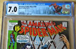 Amazing Spider-Man #101 CGC 7.0 (1st Morbius/The Living Vampire) (WHITE PAGES)