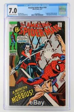 Amazing Spider-Man #101 CGC 7.0 FN/VF Marvel 1971 1st App of Morbius