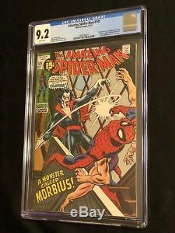 Amazing Spider-Man #101 CGC 9.2 White Pages 1st Morbius (Movie!) 1995744001