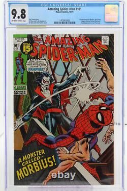 Amazing Spider-Man # 101 CGC 9.8 1st appearance of Morbius, the Living Vampire
