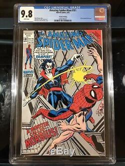 Amazing Spider-Man #101 CGC 9.8. Second Print. 1st Appearance Morbius