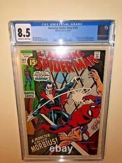 Amazing Spider-Man 101 Cgc 8.5 1st Morbius The Living Vampire MCU Movie Key Book