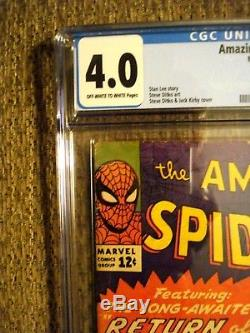 Amazing Spider-Man #11 CGC 4.0 VG 2nd appearance of Doctor Octopus