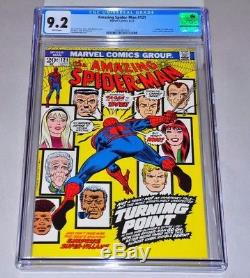 Amazing Spider-Man 121 CGC 9.2 White Pages