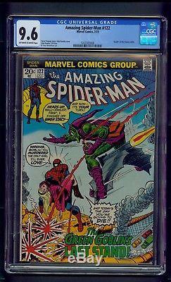 Amazing Spider-Man #122 (1973) CGC Graded 9.6 Death of Green Goblin Romita