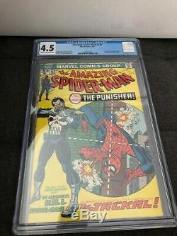 Amazing Spider-Man #129 (1974) CGC 4.5 1st appearance of The Punisher