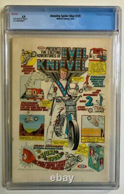 Amazing Spider-Man #129 (1974)- CGC- 5.0- 1st Punisher App. KEY BOOK- New Slab