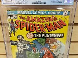 Amazing Spider-Man #129 1974 MARVEL 1st Appearance of The Punisher CGC 3.5
