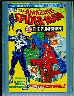 Amazing Spider-Man #129 1st Punisher CGC Graded 9.4