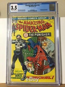 Amazing Spider-Man #129 3.5 1st Punisher CGC