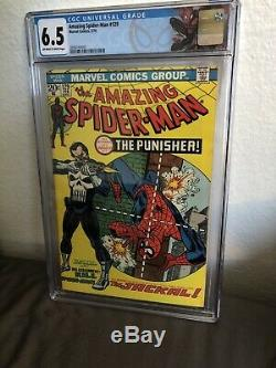 Amazing Spider-Man #129 CGC 6.5 First Appearance Of The Punisher New CGC Label