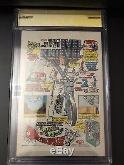Amazing Spider-Man #129 CGC 6.5 Signed By John Romita & Stan Lee