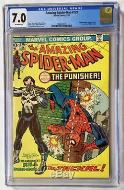 Amazing Spider-Man #129 CGC 7.0 1st App. Of Punisher