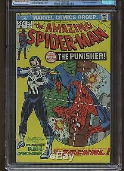 Amazing Spider-Man 129 CGC 7.0 FN/VF MARVEL 1974 1st Punisher
