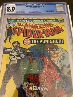 Amazing Spider-Man #129 CGC 8.0 Off White To White Pages