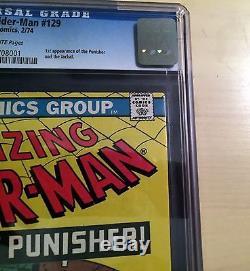 Amazing Spider-Man #129 CGC 8.5 Off-White 1st Punisher! No reserve