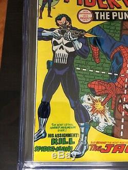 Amazing Spider-Man 129 CGC 8.5 White Pages VF+ 1st Punisher Nice Gloss