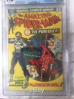 Amazing Spider-Man #129 CGC 9.6 1st Punisher (Frank Castle)