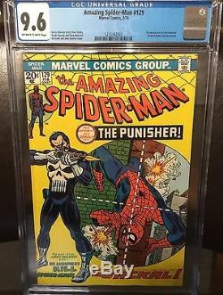 Amazing Spider-Man #129 CGC 9.6, ORIGIN AND FIRST APPEARANCE