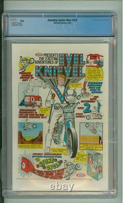 Amazing Spider-Man #129 CGC 9.6 Origin & 1st App Of The Punisher 1974