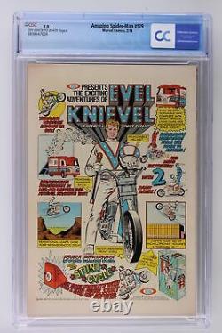Amazing Spider-Man #129 Marvel 1974 CGC 8.0 1st App The Punisher & Jackal