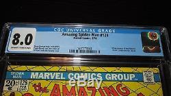 Amazing Spider-Man #129 Marvel Comics 1st appearance Punisher & Jackal CGC 8.0