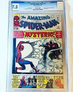 Amazing Spider-Man #13 (Jun 1964, Marvel) CGC 7.5 1st Appearance of Mysterio