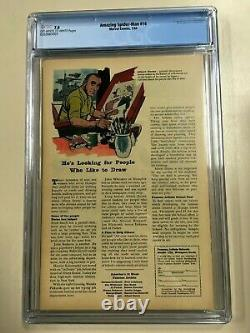 Amazing Spider-Man #14 1964 CGC 7.0 1st Green Goblin OwithW Pages Very Sharp