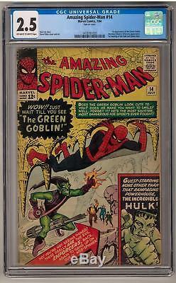 Amazing Spider-Man #14 CGC 2.5 (OW-W) 1st Green Goblin