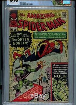 Amazing Spider-Man #14 CGC 5.0 1st Green Goblin Hulk meets Spider-Man